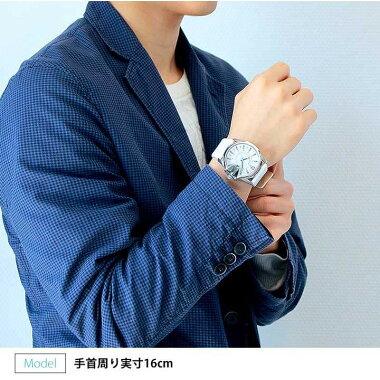 お洒落なカジュアル腕時計【DIESEL】ディーゼルDZ1405日付表示機能付きホワイト×シルバーがクールな印象【楽ギフ_包装】