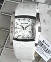 【送料無料】ディーゼル 時計 おしゃれ ブランド 腕時計 DIESEL DZ1406 メンズ レディース 男女兼用 白 ホワイト レザ…