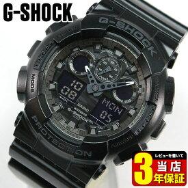 02195ee05d CASIO カシオ G-SHOCK Gショック ビッグフェイス メンズ 腕時計 時計 ウォッチ カジュアル GA-100CF-1A ga100 ブラック  海外モデル カモフラージュスポーツ 商品到着後 ...