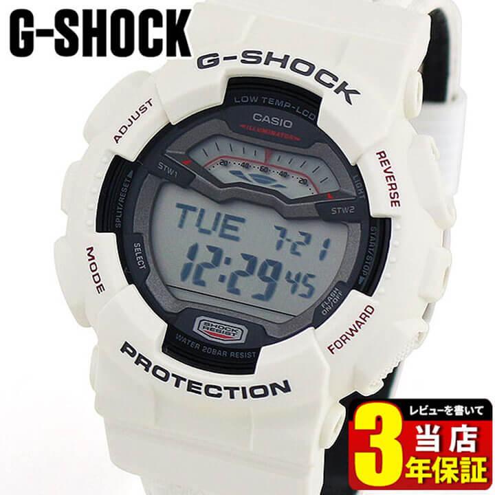 【BOX訳あり】【送料無料】CASIO カシオ 腕時計 G-SHOCK G- LIDE GLS-100-7 白 ホワイト Gショック ジーショック 海外モデル メンズ デジタル 腕時計 時計 スポーツ 誕生日プレゼント 男性 ギフト 商品到着後レビューを書いて3年保証