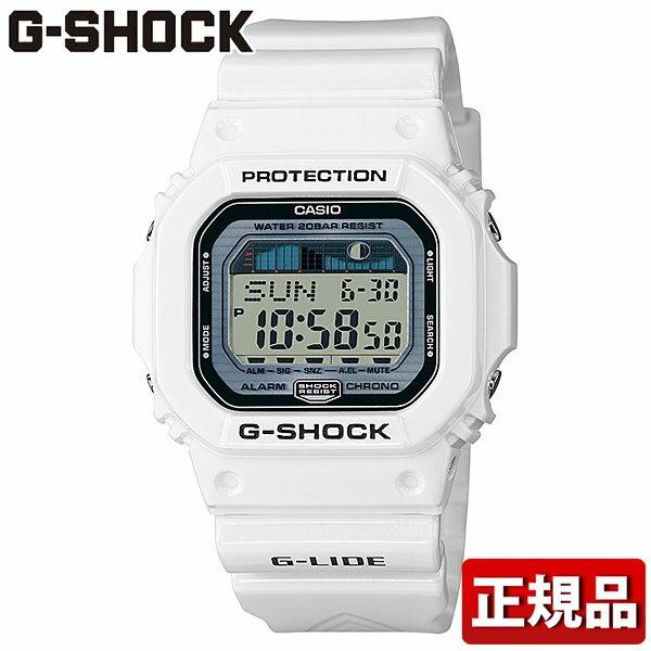 カシオ CASIO Gショック G-SHOCK ジーショック メンズ 腕時計時計G-LIDE ORIGIN デジタル スクエア GLX-5600-7JF 国内正規品 白 ホワイトスポーツ 誕生日 誕生日プレゼント 男性 卒業祝い 入学祝い ギフト