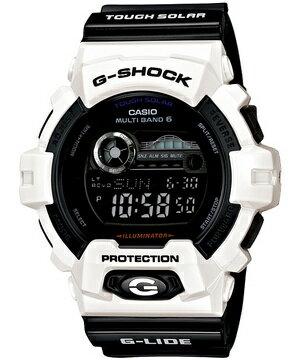 【送料無料】CASIO カシオ G-SHOCK Gショック ジーショック GWX-8900B-7JF 国内正規品 国内モデル ブラック 黒 G-LIDE Gライド タフソーラー電波時計 電波 ソーラー デジタル マルチバンド6 ホワイト 白 メンズ 腕時計スポーツ 誕生日プレゼント ギフト