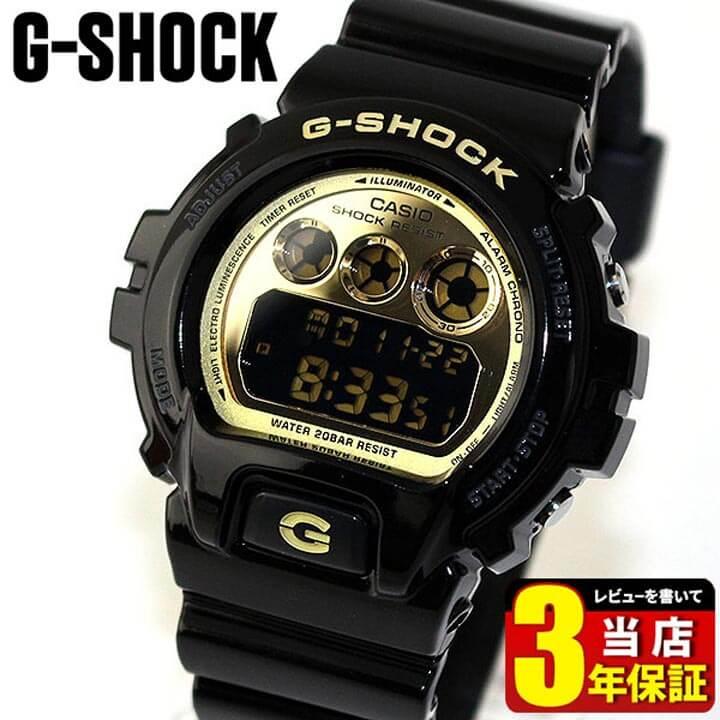 CASIO カシオ G-SHOCK Gショック ジーショック メンズ 腕時計 新品 防水 DW-6900CB-1 ブラック 黒 Crazy Colors クレイジーカラーズ 海外モデル スラッシャー 誕生日プレゼント 男性 ギフト 商品到着後レビューを書いて3年保証