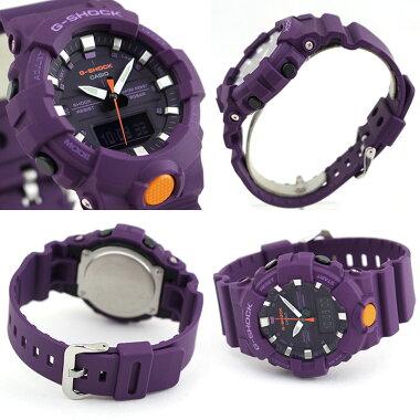 カシオG-SHOCKGショックGA-800シリーズメンズレディース腕時計20気圧防水カレンダーアナデジデジタル白マットブラック赤レッドペア商品到着後レビューを書いて3年保証