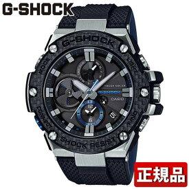 CASIO カシオ G-SHOCK Gショック ジーショック G-STEEL GST-B100XA-1AJF メンズ 腕時計 ウレタン 多機能 タフソーラー アナログ 黒 ブラック シルバー 国内正規品 誕生日プレゼント 男性 ギフト