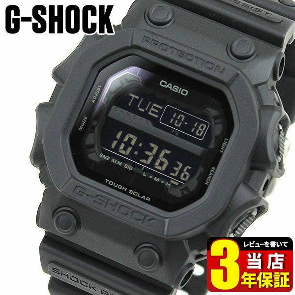 【送料無料】CASIO カシオ G-SHOCK Gショック ジーショック GX-56BB-1 海外モデル メンズ 腕時計 ウォッチ タフソーラー アナログ 黒 ブラック 商品到着後レビューを書いて3年保証 誕生日プレゼント 男性 父の日ギフト