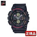 CASIO カシオ G-SHOCK Gショック ジーショック GA-140-1A4JF メンズ 腕時計 ウレタン 多機能 クオーツ アナログ デジタル 黒 ブラック 国内正規品