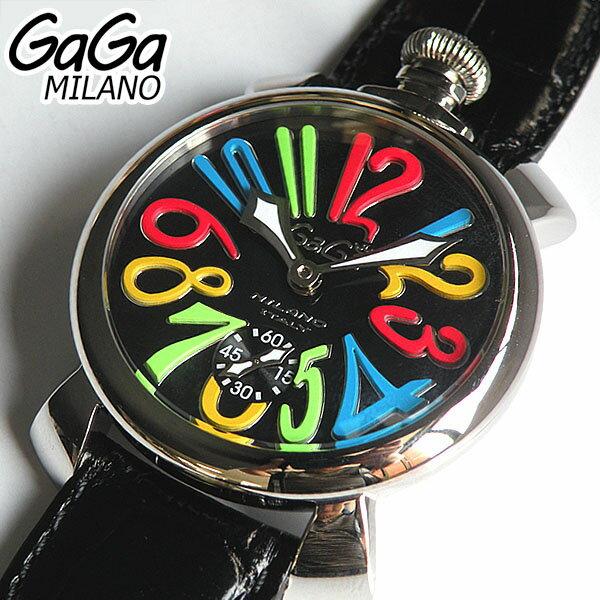 【スーパーセール】【送料無料】GAGA MILANO ガガミラノ 5010.02S メンズ 腕時計時計 手巻き スケルトン ラグジュアリー MANUALE 48MM マヌアーレ 海外モデル レザーベルト 誕生日 新品 誕生日プレゼント 男性 父の日ギフト