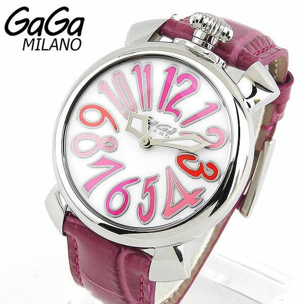【送料無料】 ガガミラノ MANUALE 40MM ステンレス 5020.6 GAGA MILANO GAGAMILANO レディース 腕時計時計 ラグジュアリー マヌアーレ 海外モデル レザーベルト 新品