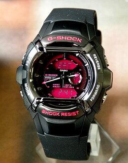 ★ 卡西欧卡西欧 g 冲击 G 冲击 g-550FB-1A4 海外模型手表品牌新手表多功能防水色表盘黑色黑粉红色模拟入口庆祝