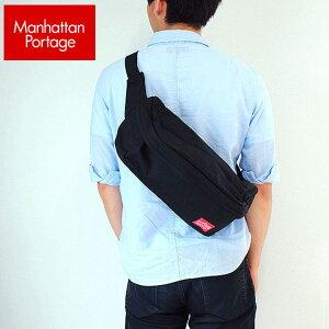 Manhattan Portage マンハッタンポーテージ ウエストポーチ1106 WAIST BAG メンズ レディース ママ おしゃれ 男女兼用 かばん カバン 鞄 黒 ブラック誕生日 男性 女性 ギフト プレゼント