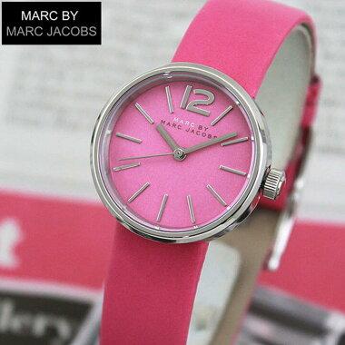 MARCBYMARCJACOBSマークバイマークジェイコブスPEGGYペギーMBM1369海外モデルレディース腕時計ウォッチ革バンドレザークオーツアナログピンク