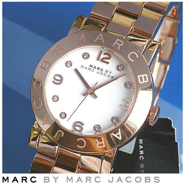 【送料無料】マーク バイ マーク ジェイコブス MARC BY MARC JACOBS MARCJACOBS マークバイマーク レディース 腕時計時計 女性【Amy】MBM3077エイミー レディース腕時計 ピンクゴールド メタルバンド 誕生日プレゼント ギフト