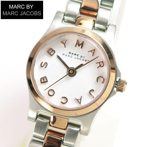 【送料無料】MARC BY MARC JACOBS マークバイマーク ジェイコブス MBM3261 海外モデル レディース 腕時計 時計 メタル バンド クオーツ アナログ 白 ホワイト ピンクゴールド 誕生日プレゼント 女性 ギフト 就職祝い 入学式
