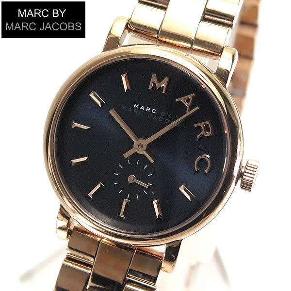 【スーパーセール】【送料無料】MARC BY MARC JACOBS マークバイマーク ジェイコブス MBM3332 海外モデル レディース 腕時計時計メタル バンド クオーツ アナログ 紺 ネイビー 誕生日プレゼント 女性 ギフト