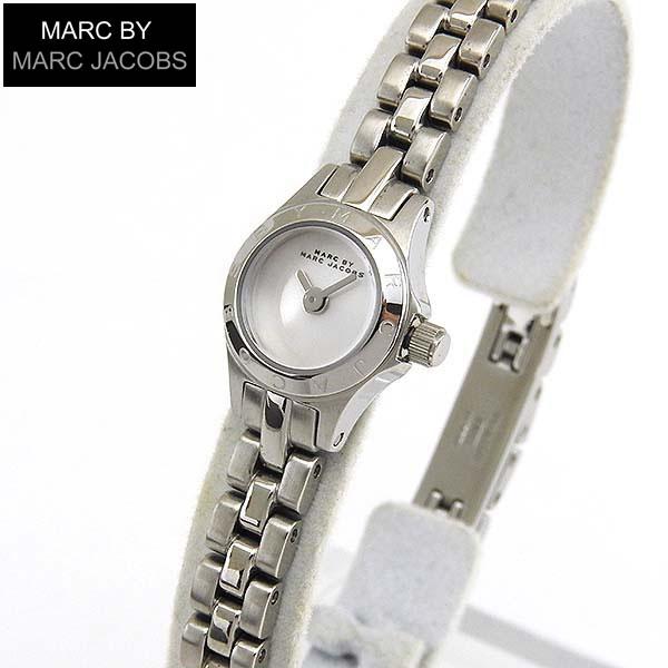 【送料無料】MARC BY MARC JACOBS MARCJACOBS マーク バイ マーク ジェイコブス MBM3340 Super Dinky Blade スーパーディンキーブレード レディース 腕時計 シルバー 海外モデル 誕生日プレゼント 女性 ギフト
