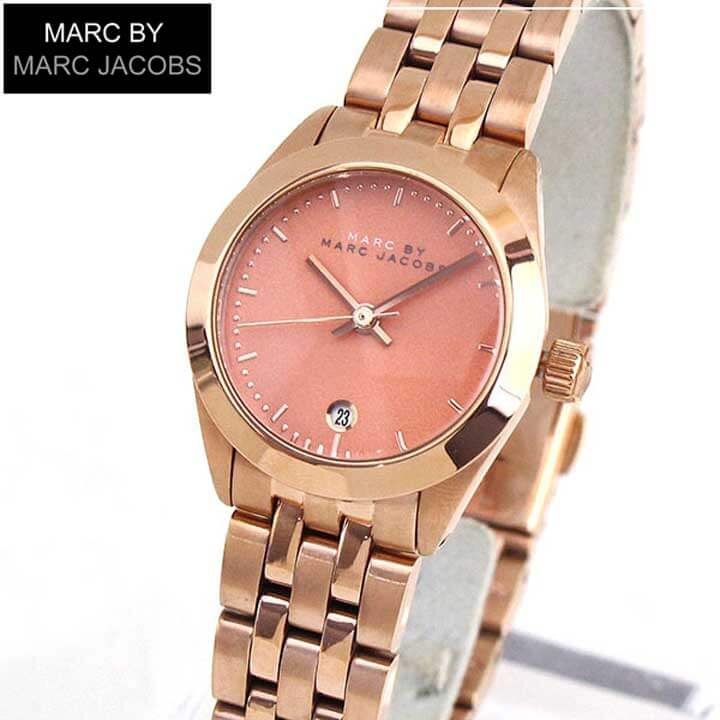 【送料無料】MARC BY MARC JACOBS マークバイマーク ジェイコブス MBM3377 海外モデル レディース 腕時計 メタル バンド アナログ ピンク 金 ピンクゴールド Peeker ピーカー 誕生日プレゼント 女性 ギフト