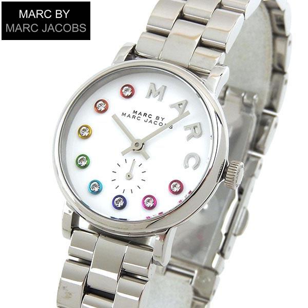 【送料無料】MARC BY MARC JACOBS マークバイマーク ジェイコブス Baker ベイカー Glitz グリッツ MBM3423 海外モデル レディース 腕時計 ウォッチ 銀 シルバー 白 ホワイト 誕生日プレゼント 女性 ギフト