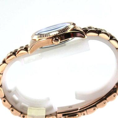 【裏蓋訳あり】MICHAELKORSマイケルコースMK3272レディース腕時計時計ゴールド金ブルー青海外モデル