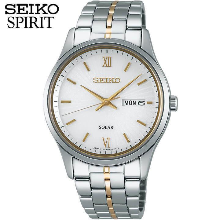 【送料無料】セイコー セレクション スピリット 腕時計 SEIKO SELECTION SPIRIT ソーラー メンズ ペアシリーズ SBPX071 時計 国内正規品 商品到着後レビューを書いて7年保証 誕生日プレゼント 男性 ギフト