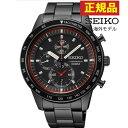 ★送料無料 SEIKO セイコー SNDD89PC SNDD89P1アナログ クオーツ ブラック黒 腕時計時計 メンズ クロノグラフ 正規海外モデル 誕生日 ギフト 逆輸入