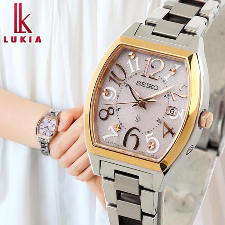 【送料無料】SEIKO セイコー レディース LUKIA ルキア レディース 腕時計 新品 ウォッチ 電波 ソーラー SSVW048 国内正規品 誕生日プレゼント 女性 ギフト 商品到着後レビューを書いて7年保証