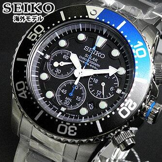 【送料無料】SEIKO セイコー SSC017P1 海外モデル ダイバーズウォッチクロノグラフ ソーラー メンズ 腕時計 並行輸入品 男性 ギフト 男性 ギフト ダイバーズウォッチ 逆輸入 誕生日プレゼント