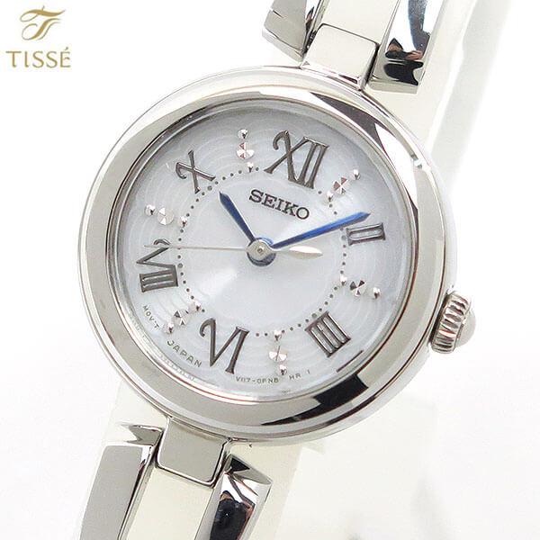 【送料無料】SEIKO TISSE セイコー ティセ ソーラー SWFA151 レディース 国内正規品 時計 腕時計 ブライダル 結納 シルバー 誕生日 ギフト 商品到着後レビューを書いて7年保証