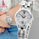 【ノベルティ付き】SEIKO セイコー LUKIA ルキア ペア SSVV035 レディース 腕時計 メタル 電波ソーラー 白 ホワイト …