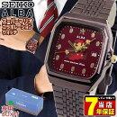 SEIKOセイコーALBAアルバスーパーマリオコラボファミコンマリオシリーズ男女兼用腕時計メタルボルドーゴールド誕生日プレゼントギフトACCK420国内正規品商品到着後レビューを書いて7年保証