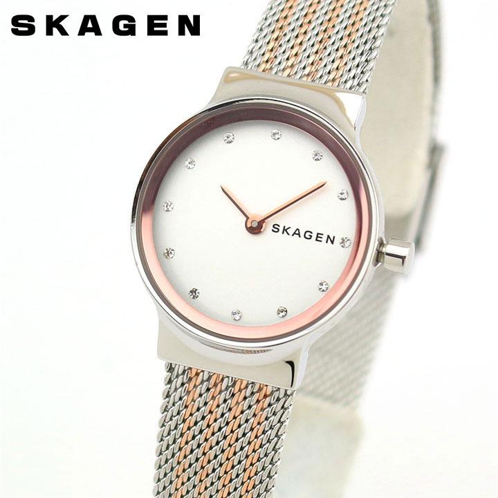 【送料無料】SKAGEN スカーゲン フレジャ SKW2699 レディース 腕時計 メタル 金 ピンクゴールド 銀 シルバー 誕生日プレゼント 女性 卒業祝い 入学祝い ギフト 海外モデル