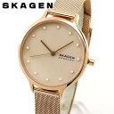 SKAGEN スカーゲン ANITA アニータ レディース 腕時計 時計 メッシュベルト ミラネーゼ ピンクゴールド ローズゴール…