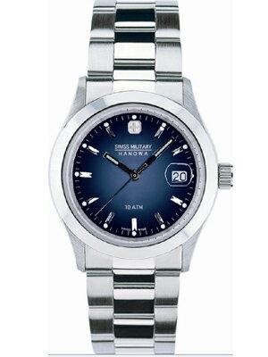 【送料無料】【SWISS MILITARY】スイスミリタリー 腕時計時計 ELEGANTエレガント メンズ ブルーML100 ML-100 誕生日プレゼント 男性 ギフト