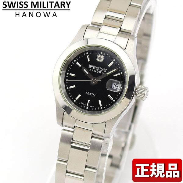 【送料無料】SWISS MILITARY スイスミリタリー ELEGANT エレガント 腕時計 時計 レディース ブラック 黒 ML101 ML-101用 誕生日プレゼント 女性 ギフト