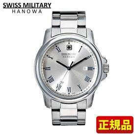 SWISS MILITARY ROMAN Hanowa スイスミリタリー ローマン メンズ 腕時計時計ML377 ML-377 国内正規品 シルバー 誕生日 男性 ギフト プレゼント