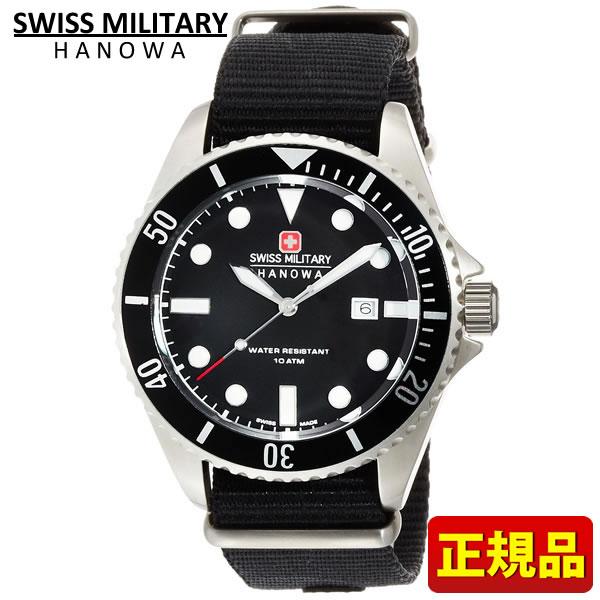 【送料無料】SWISS MILITARY スイスミリタリー NAVY ネイビーシリーズ ML-415 ML415 国内正規品 メンズ 腕時計 ウォッチ カジュアル 黒 ブラック 誕生日 ギフト