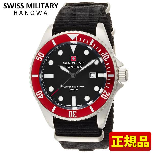 【送料無料】SWISS MILITARY スイスミリタリー NAVY ネイビーシリーズ ML-416 ML416 国内正規品 メンズ 腕時計 ウォッチ カジュアル 赤 レッド 誕生日 ギフト