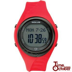 【送料無料】SOLUS Team Sports 300 ソーラス 多機能 運動 ダイエット 腕時計レディース メンズ 時計 01-300-04 赤 レッド ランニング スポーツ 健康 トレーニング ウォーキングスポーツ誕生日プレゼント 男性 女性 ギフト