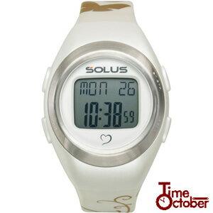【送料無料】SOLUS Leisure 800 ソーラス 多機能 運動 ダイエット 腕時計 レディース メンズ 時計 01-800-04 パールホワイト ランニング スポーツ 健康 トレーニング ウォーキングスポーツ 男性 ギフト 誕生日プレゼント