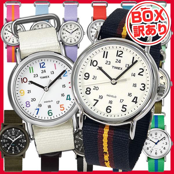 【BOX訳あり】【送料無料】タイメックス TIMEX 時計 おしゃれ ブランド メンズ レディース 腕時計 時計 カジュアル ウィークエンダー WEEKENDER キャンパー CAMPER ナイロンバンド 黒 ブラック 白 ホワイト ネイビー