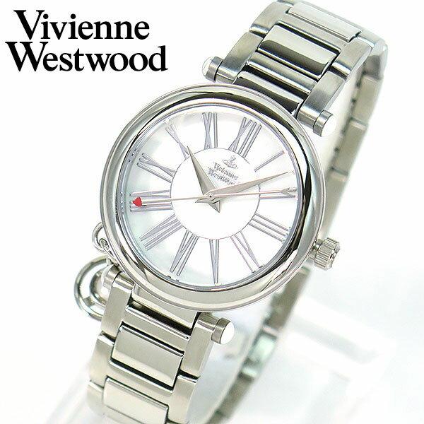 【送料無料】Vivienne Westwood ヴィヴィアン・ウエストウッド Orb オーブ VV006PSLSL 海外モデル レディース 腕時計 ウォッチ 誕生日プレゼント ギフト ビビアンウエストウッド