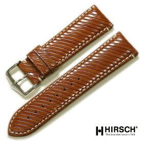 【ワケあり】【ヒルシュ】リベッタ カーフ ゴールドブラウン (日本限定モデル)24mm 時計ベルト
