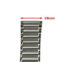 【バンビ】OSCAR(オスカー)金属ブレスメタルブレス時計ベルト