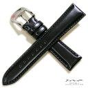 【バンビ】松阪牛 さとり(機械縫い)ブラック 時計ベルト