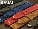 【カシス】KAUAI(カウアイ)ヌバック ブラック/グレー/ブルー/ブラウン 時計ベルト