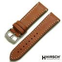 【ヒルシュ】リバティ カーフ ゴールドブラウン 時計ベルト