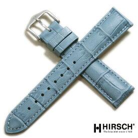 【ヒルシュ】デューク 型押し 日本限定カラー ベージュ/ブルー/ピンク 時計ベルト