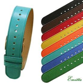 【Emitta】(エミッタ)TEMPESTI Colore(コローレ) カーフ 引き通し 時計ベルト