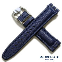 【モレラート】SHERATON(シェラトン)スウォッチ用ラバーダークブルー時計用ベルト