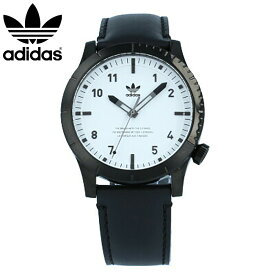 adidas / アディダス Z06-005 CYPHER_LX1 サイファー 腕時計 ブラック ホワイト レザー メンズ 母の日 【あす楽対応_東海】
